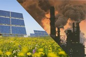 2.  Fossil fuels vs. Renewable energy- compare and contrast the two forms of energy. Look at the cost financially to humans and environmentally to the Earth.  Convince someone to conserve energy.