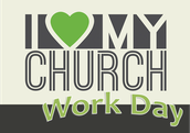 I Love My Church Work Day on Saturday