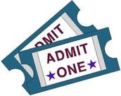 Ticket Sales Schedule