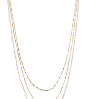 Libby Layering Necklace - Gold