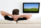 Me gusta ver televisión.