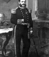 Miguel Grau in his navy uniform