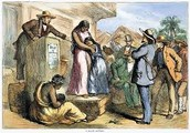 At the slave sale