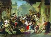 visigoths sack rome