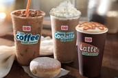 coffee, coffee, & more coffee.