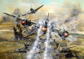 Planes In The War