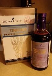 Einkorn Pancakes & Ningxia Berry Syrup