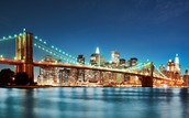 Brooklyn  bridge + skyline