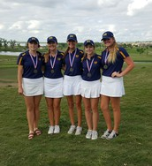 Girls Golf Tee Up for State