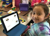 CES - First Grade Students using Popplet in Math