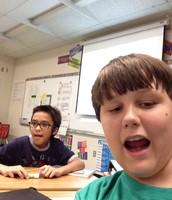 Shain and Robert