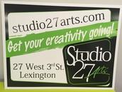 We are Studio27Arts!!!!