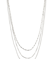 Libby Layering Necklace - Silver