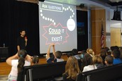 National Geographic Explorer Visits Cannon