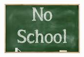 No School October 10th