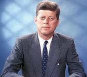 Did JFK get filmed in some TV shows?