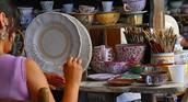 Lavorazione della ceramica di Deruta