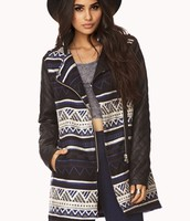 Tribal Style Quilted Jacket $44.80