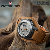 Wear time in style with branded Victorinox watches