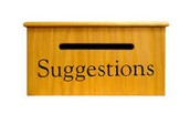 PTA suggestion box
