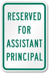 From the Assistant Principal: