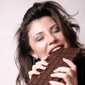 manger la chocolate!! :D