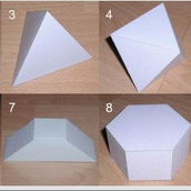 Foldable and Printable 2D and 3D shapes