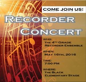 Recorder Concert