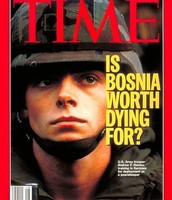 Soldier on the cover of Time Magazine