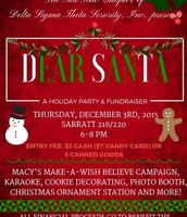 DST Holiday Party & Fundraiser