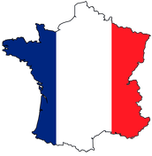 France Flag and Country