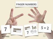 Math Fingers Game