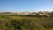 Vista para a pista do Aeródromo Municipal de Cascais