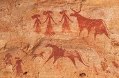 Ancient Egypt Cave Paintings
