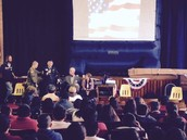 Recognition of Veterans at Reilly