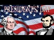 President's Day Program!