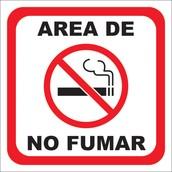 Anuncio de No Fumar