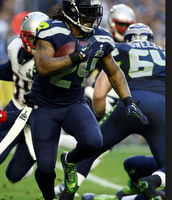 Marshawn lynch was one of the best running backs in the league.