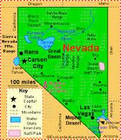 Nevada Map Key!