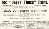 1910 Japan annexes Korea