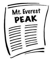 """The Mt. Everest Peak"""