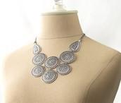 Medina Bib Necklace {SOLD}