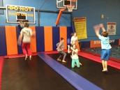 Jump Time team building fun!