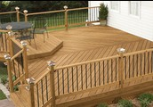 Get your deck stained!