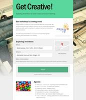 Get Creative!  San Diego - Oct. 12