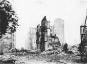 גרניקה לאחר הפצצה של הגרמנים