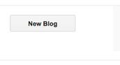 """Click """"new blog"""""""