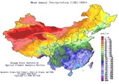 What is the climate of china?