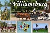 Take a walk through history at Colonial Williamsburg.