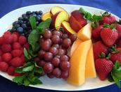 Debes comer las frutas